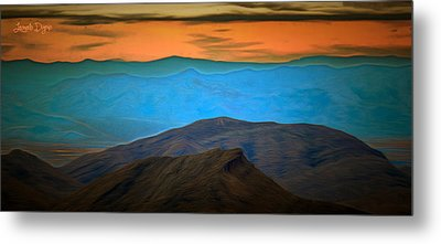 Wild Mountains - Pa Metal Print by Leonardo Digenio