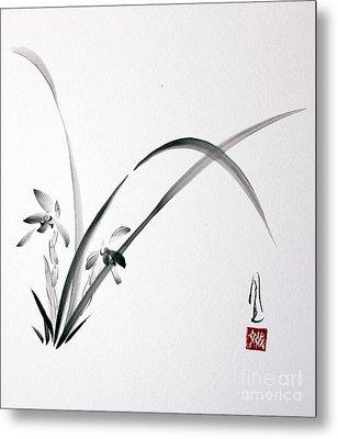 Wild Orchid Metal Print