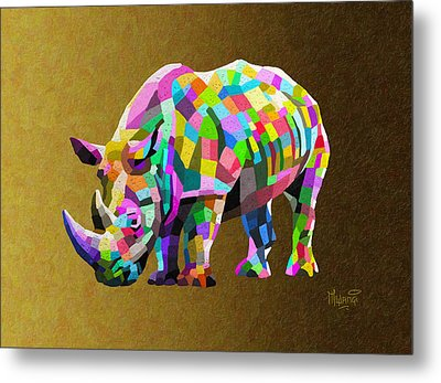 Wild Rainbow Metal Print by Anthony Mwangi