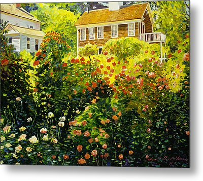 Wild Rose Country Metal Print by David Lloyd Glover