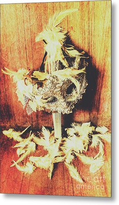 Wild West Saloon Dancer Still Life Metal Print by Jorgo Photography - Wall Art Gallery