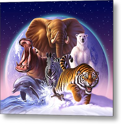 Wild World Metal Print by Jerry LoFaro
