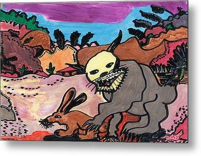 Wildcat Metal Print by Don Koester