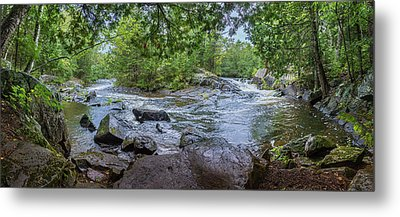 Metal Print featuring the photograph Wilderness Waterway by Bill Pevlor