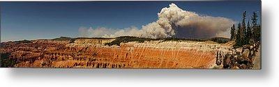 Wildfire Cedar Breaks National Monument Utah Metal Print