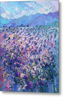 Wildflower Dawn Metal Print by Erin Hanson