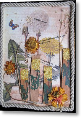 Wildflower Honey Metal Print