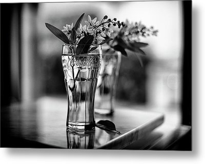 Wildflowers Still Life Metal Print