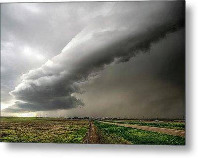 Wildorado Storm Metal Print