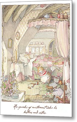 Wilfred's Birthday Morning Metal Print by Brambly Hedge