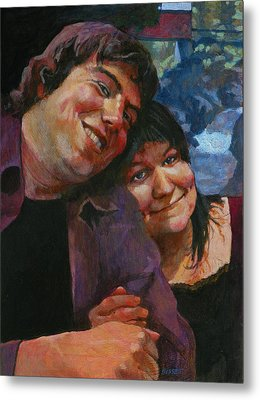 Will And Britta Metal Print