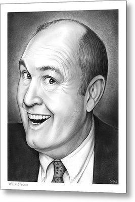 Willard Scott Metal Print