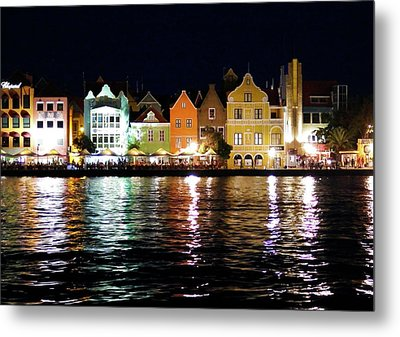 Metal Print featuring the photograph Willemstad, Island Of Curacoa by Kurt Van Wagner