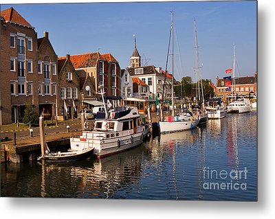 Willemstad Metal Print by Louise Heusinkveld