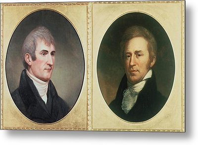 William Clark 1770-1838 And Meriwether Metal Print by Everett
