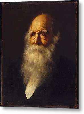 William Cullen Bryant Metal Print by MotionAge Designs