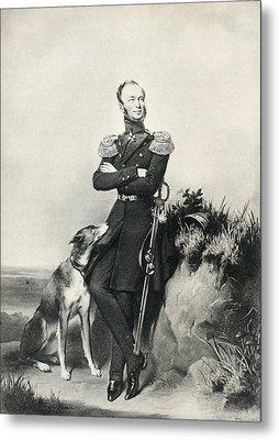 William II, Willem Frederik George Metal Print by Vintage Design Pics