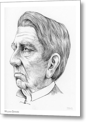 William Seward Metal Print