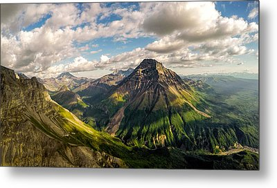 Williams Peak Alaska Metal Print