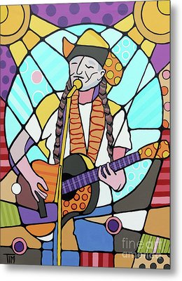 Willie Metal Print by Tim Ross