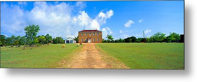 Willow City School From 1904 Metal Print