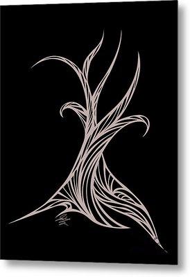 Willow Curve Metal Print by Jamie Lynn
