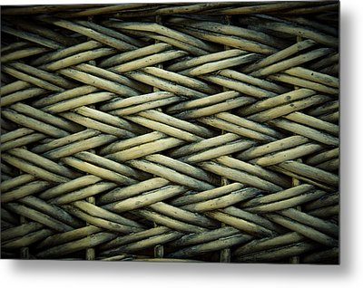 Metal Print featuring the photograph Willow Weave by Les Cunliffe