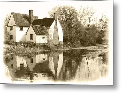 Willy Lots Cottage Metal Print by Terence Davis