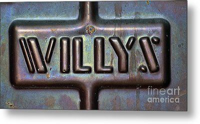 Willys Metal Print