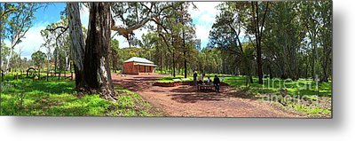 Metal Print featuring the photograph Wilpena Pound Homestead by Bill Robinson