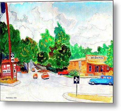 Wimberley Texas  Metal Print by Fred Jinkins