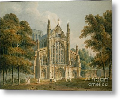Winchester Cathedral Metal Print by John Buckler