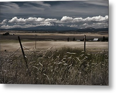 Wind Blown Plains Metal Print