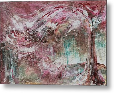 Wind Dance Metal Print by Mary Wolf