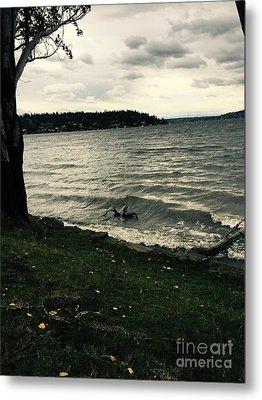 Wind Followed By Waves Metal Print
