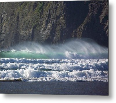 Wind On The Waves Metal Print by Angi Parks