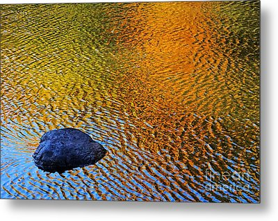 Metal Print featuring the photograph Wind On Water by Aimelle