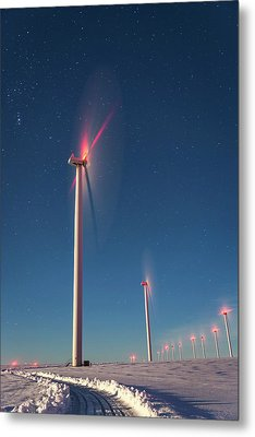 Metal Print featuring the photograph Wind Power by Cat Connor