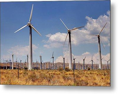 Wind Power II Metal Print by Ricky Barnard