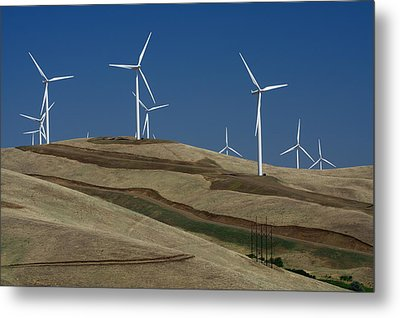 Wind Power Metal Print by Todd Kreuter