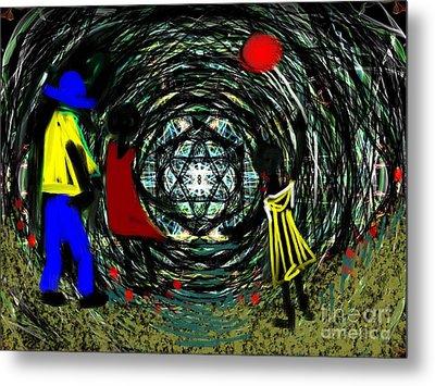 Wind Tunnel Metal Print
