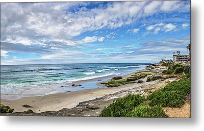 Metal Print featuring the photograph Windansea Wonderful by Peter Tellone