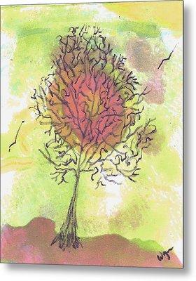 Windblown Four Metal Print