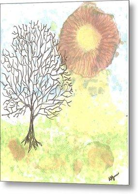 Windblown Three Metal Print