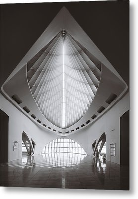 Windhover Hall Metal Print by Scott Norris