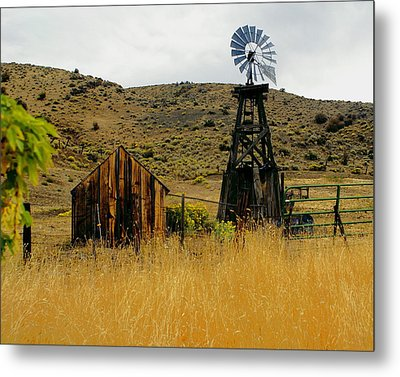 Windmill 2 Metal Print by Marty Koch