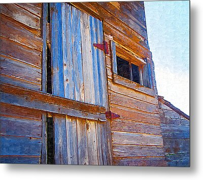 Metal Print featuring the photograph Window 3 by Susan Kinney