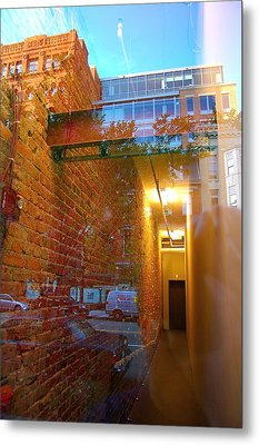 Window Art Lll Metal Print by Mark Lemon