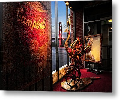Metal Print featuring the photograph Window Art by Steve Siri