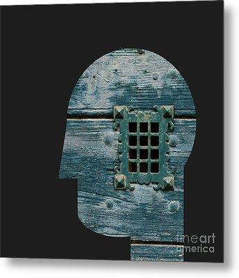 Window Metal Print by Igor Kislev